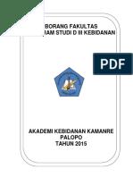 Borang Institusi Akbid Kamanre 20151