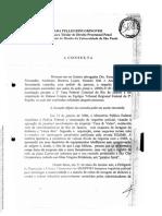 Ada Pellegrini Grinover - Parecer sobre interceptação telefônica e telemática (Operação Negócio da China)