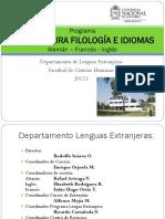 Presentacion Programa Filologia e Idiomas