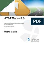 AT&T Maps v2.0 User's Guide for J2ME