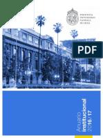 Anuario Universidad Católica 2016 - 2017