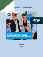 Reglamento y Evaluaciones - Diplomado FT