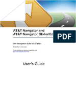 AT&T Navigator Global Edition v1.7 User's Guide for Blackberry