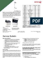 T8601-02 Boletín de Servicio