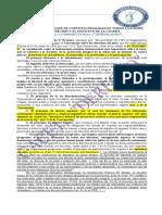 Las Normas Del Bloque de Constitucionalidad en Torno a La Niñez, Sus Derechos y El Instituto de La Guarda