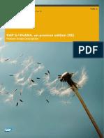 SAP S4HANA - Feature Scope Description Edition 1511