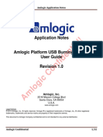 Amlogic Platform USB Burning Tool V2 User Guide V1.0