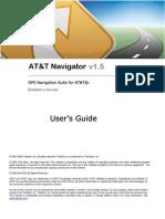 AT&T Navigator v1.5 User's Guide for BlackBerry Phones