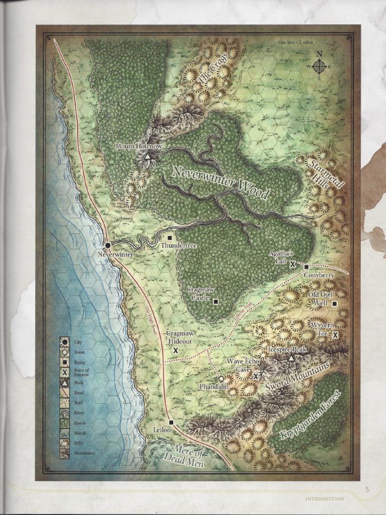 Phandelver Maps Map Leisure