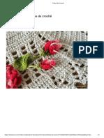 Veja Como Fazer Folha de Crochê