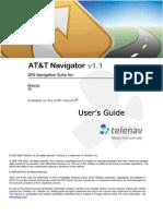 AT&T Navigator v1.1 User's Guide for the Motorola Z9