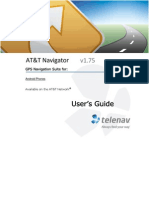 AT&T Navigator v1.75 User's Guide for Android