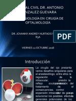 Anestesia en Oftalmoglogia