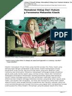 Rohmatchemistry's Blog-Filosofi Hidup_ Memaknai Hidup Dari Hukum Newton Tentang Fenomena Mekanika Klasik
