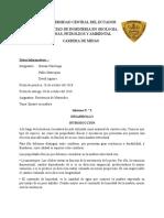 Informe N°3. Ensayo en madera