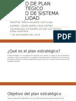 Diseño de Plan Estratégico