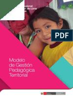 Modelo de Gestión Pedagógico Territorial