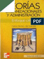 Teoria Organizacionales y Adm Davila (1)