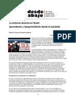 Brasil Bolsonaro Aprendiendo Desaprendiendo Acosta & Gudynas