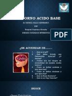 Trastorno Acido Base