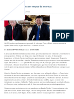 Wallerstein_ Geopolítica Em Tempos de Incerteza