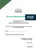 Guía de Trabajo Grupos Diagnostico Unidades de Negocio UEN Cibic