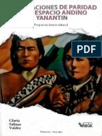 Salinas - Las relaciones de paridad en el espacio andino - Yanantin