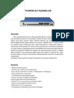 PDF_4694083584GPON OLT RL8008G-V20 SPEC