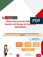 """PPT del Taller PREVAED Ugel Azángaro """"Etapa de respuesta educativa en situaciones de emergencia o desastre"""""""