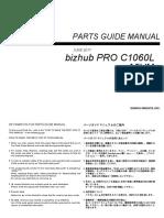 Bizhub Proc 1060 l Parts Manual