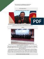 Kliping Kegiatan Pemerintah Indonesia Dalam Organisasi Internasional e
