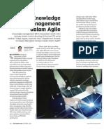 Knowledge Management Dalam Agile
