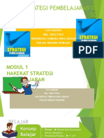 Modul 1 Strategi Pembelajaran