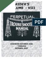 Perpetual Troubleshooter's Manual - Vol 08 (1936-1937) - John F. Rider