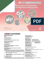 Tablas Auxiliares Para Formulacion y Evaluacion de Regimenes Alimentarios