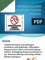 Pengelolaan Kawasan Tanpa Rokok