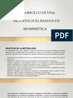 Desarrollo de Una Metodología Biomimética