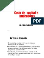 14_ Decimo Cuarta Semana_Costo de Capital Indicadores