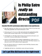 Philip Satre Outstanding Director of the Year Leaflet NY 10.6.10 Draft 1 Page 1