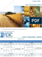 Daily Agri Report 09 Nov 2018 by Epic Research