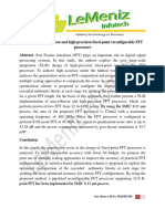 VLSI Design of Low-cost and High-precision Fixed-point Reconfigurable FFT Processors