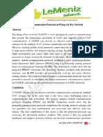 Adaptive Communication Protocols in Flying Ad Hoc Network
