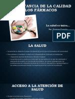 La Importancia de la calidad de los fármacos.pptx
