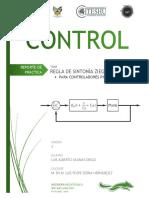 Control -  Sintonia de Controladores PID por Ziegler Nichols