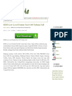 Hdd Low Level