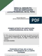 5351 3. Intentos de Unificacion Jurisprudencial en El Peru