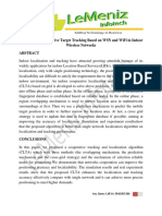 Reliable and Cooperative Target Tracking Based on WSN and WiFi in Indoor Wireless Networks