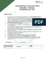 01 Application Form-I