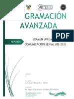 Programacion Avanzada Examen U3 Comunicacion Serie PIC