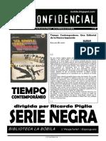 L'H Confidencial 120. Serie Negra de Tiempo Contemporáneo
